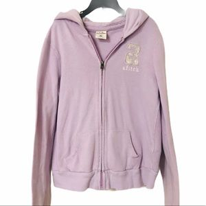 Abercrombie & Fitch Hooded Zip Up Sweatshirt